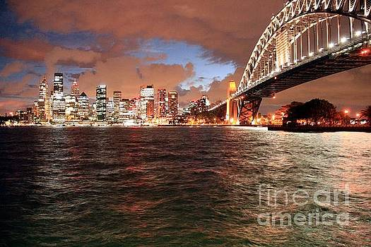 Sydney Skyline by David Gardener