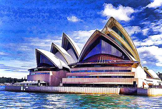 Dennis Cox WorldViews - Sydney Symbol