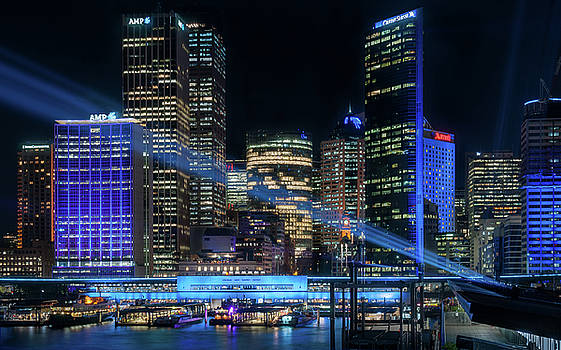 Sydney -The Blue City by Daniela Constantinescu