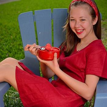 Sydni: An Experiment In Red. #summer by Carle Aldrete