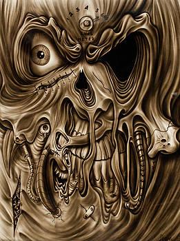 Syfy- Scary Face by Shawn Palek