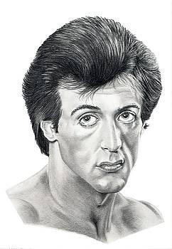 Sylvester Stallone by Murphy Elliott