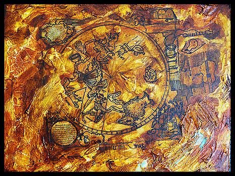 symbolic artifact I by Ewa BOROWKA