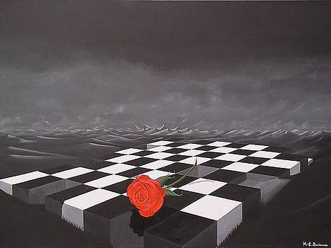 Symbolic Chess by Kenneth-Edward Swinscoe