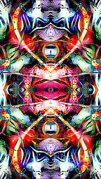 Symmetrical Abstract 101 by JD Poplin