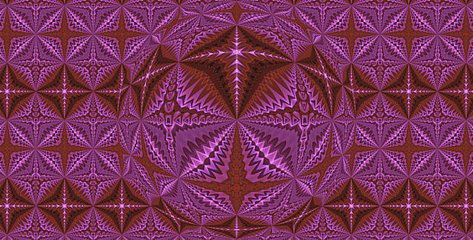 Symmetrical Pattern, Kaleidoscope by Ernst Dittmar