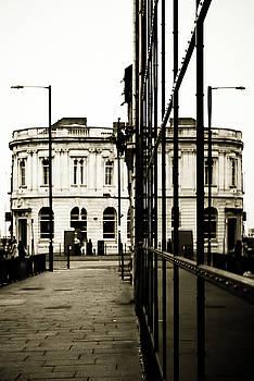 Symmetry reflection of a building by Paul Jarrett