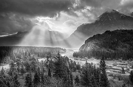 Symphony of Light // Many Glacier, Glacier National Park by Nicholas Parker