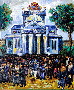 Ari Roussimoff - Synagogue In Warsaw, Poland