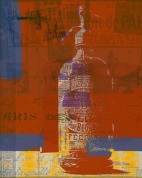 Joost Hogervorst - Syphon bottle Fecamp rouge