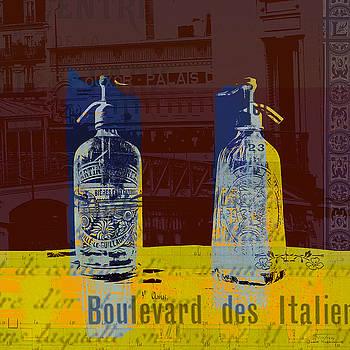 Joost Hogervorst - Syphon bottles Boulevard des Italiens