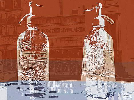 Joost Hogervorst - Siphon bottles Luxor Paris