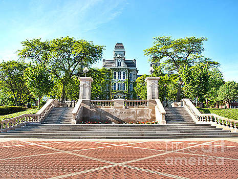 Syracuse University Hall of Languages by Debra Millet