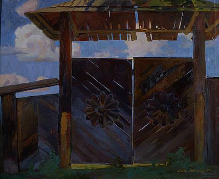 Sysoev's gate by Yana Poklad
