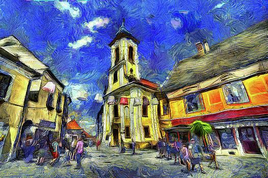 Szentendre Town Budapest Art by David Pyatt