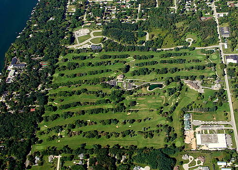 Bill Lang - T-004 Tuscombia Golf Course Green Lake Wisconsin