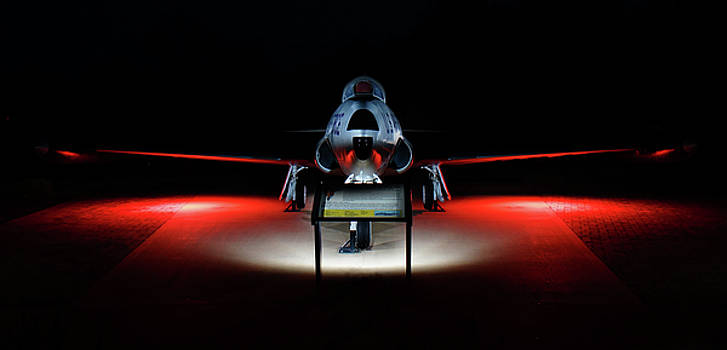 T-33 F-80 Shooting Star by Keith Bridgman