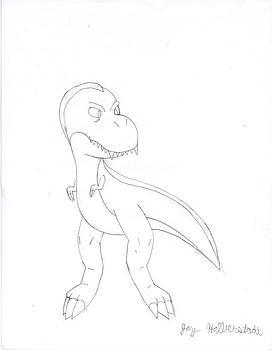 T-Rex by Jayson Halberstadt