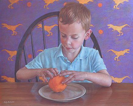 T Rex vs The Orange by Holly  Bedrosian