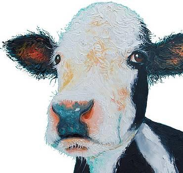 Jan Matson - T-Shirt with cow design