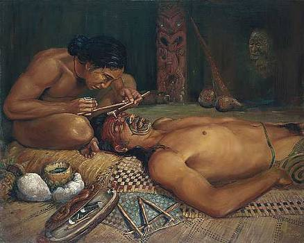 Ta Moko by Peter Jean Caley