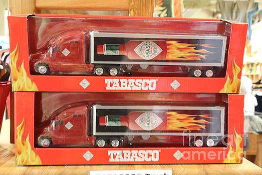 Chuck Kuhn - Tabasco Truck Toy