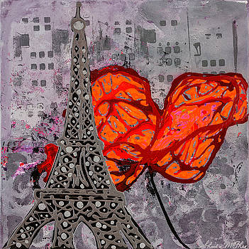 Table For Two In Paris by Sheila McPhee