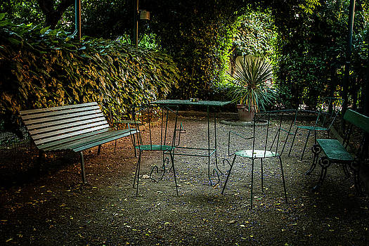 Table in the Park by Andrew Soundarajan