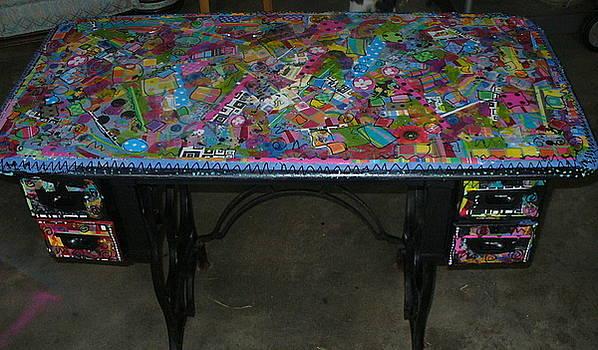 Table by Joyce Goldin