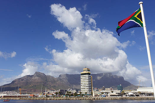 Table Mountain Cape Town South Africa by Joscelyn Paine