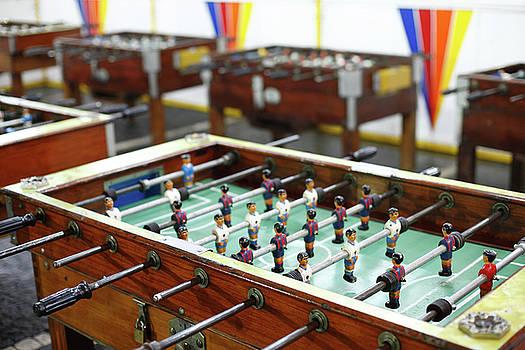 Gaspar Avila - Table soccer tables