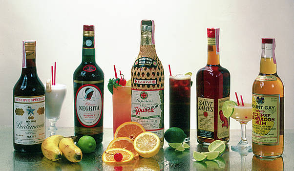 Table top liquors by Gary De Capua