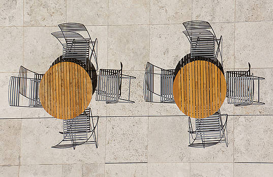 Tables and Chairs by Dennis Reagan