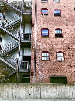 Tacoma Brick Building by Lexi Heft