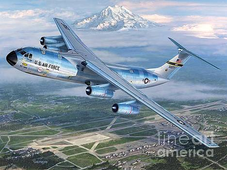 Stu Shepherd - Tacoma Starlifter C-141