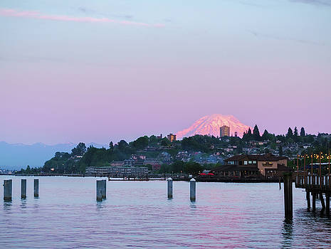 Tacoma Sunset by Ken Stanback