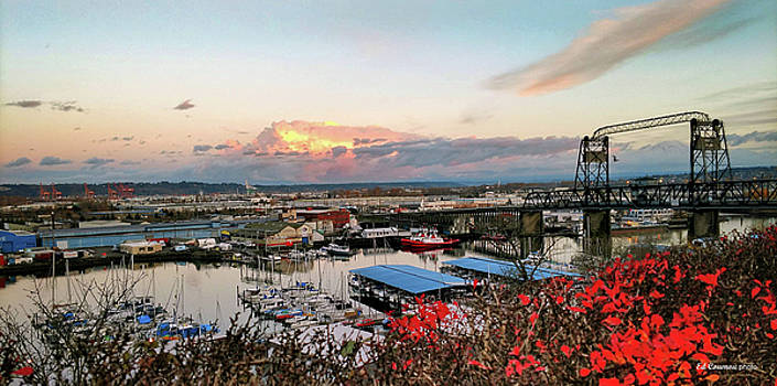 Tacoma's Thea Foss Waterway by Edward Coumou