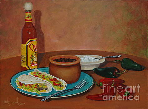 Tacos and beans by Michael Nowak