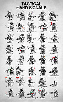 Tactical Hand Signals by Zapista Zapista