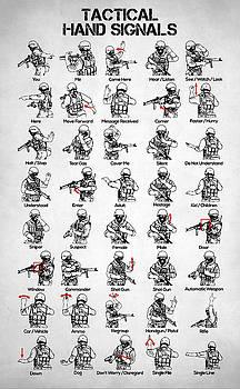 Tactical Hand Signals by Taylan Apukovska