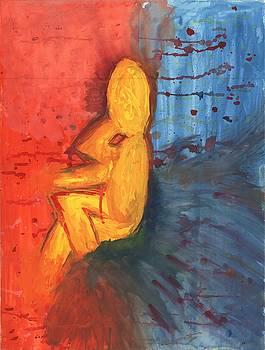 Thinking Man by Hakim Midan