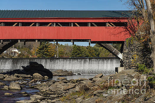 Bob Phillips - Taftville Covered Bridge and Falls