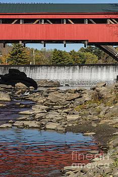 Bob Phillips - Taftville Covered Bridge and Ottaquechee River