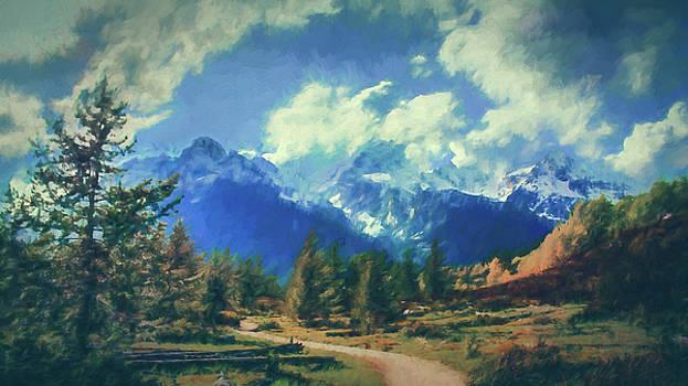 Taggert Lake by Alexandra Ortiz de Fargher
