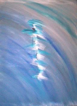 Taglio di luce bianca by Elio Scuderi