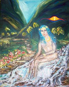Tahitian Princess by Mary Sedici