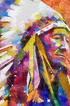 Tahlequah Chief by Dawn Bearden