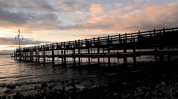 Larry Darnell - Tahoe Dock Sunrise