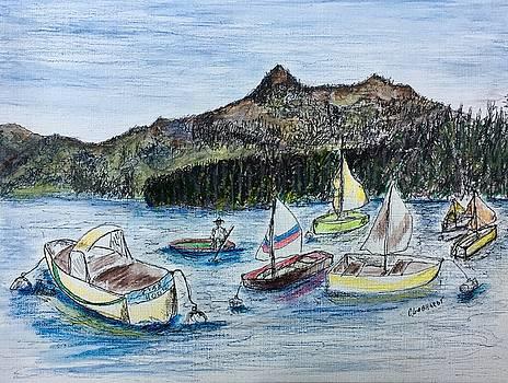 Tahoe in August by Chuck Gebhardt