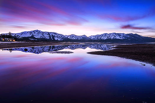 Tahoe Reflections - Lake Tahoe CA by Brad Scott